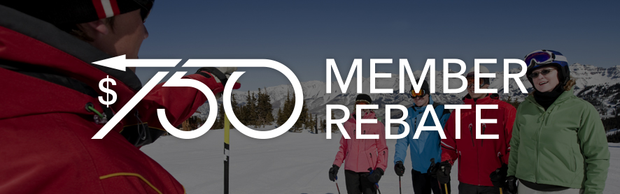 Canadian Ski Instructors' Alliance Member Rebate
